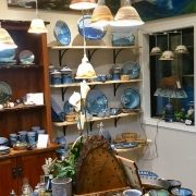 Weaverville pottery shop
