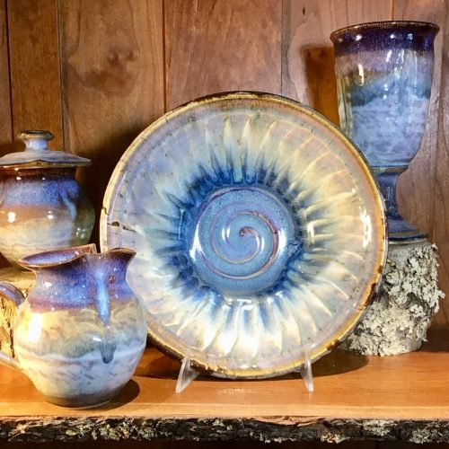 Weaverville pottery and ceramics