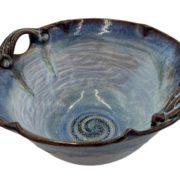 Large Deep Pottery Bowl Salvaterra